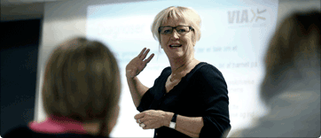 Har i tid til overs så få uddannet nogle ledere (Foto: viauc.dk)