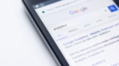 Googlesøgning fra telefonen